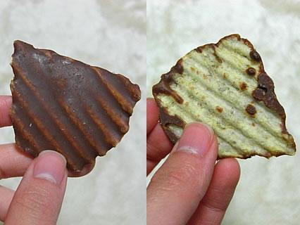 ROYCE 新じゃがポテトチップチョコレート 中身