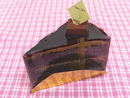 白い森 チョコレートケーキ(300円)
