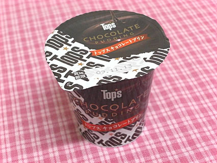 北海道乳業 トップス チョコレートプリン