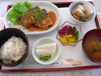 お食事処 咲さく お魚(日替り)定食(750円)