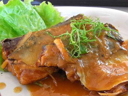 お食事処 咲さく お魚(日替り)定食 アップ