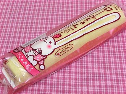 山崎製パン ロールちゃん(いちご&みるく)