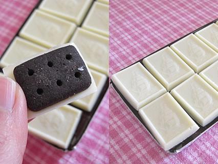 アルフォートミニチョコレートバニラ&ホワイト 中身