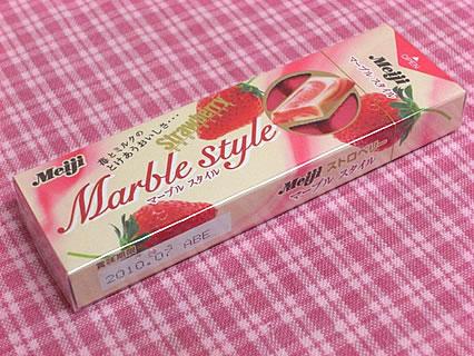 明治製菓 ストロベリー マーブルスタイル