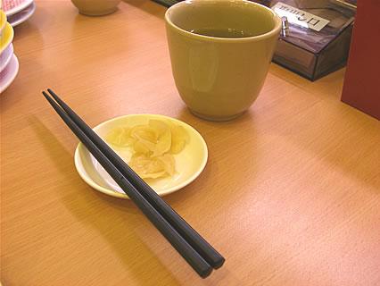かっぱ寿司 エコ箸