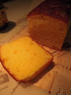 クリームチーズと柚子茶のパウンドケーキ4