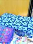 藍染めタオル