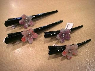 桜髪飾り3