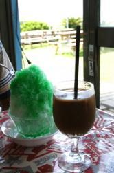 夏季氷とアイスコーヒー♪