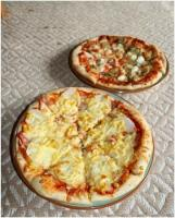 届いたピザ