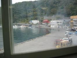 うのとりから見た港