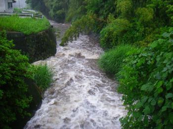 080611家の前の川