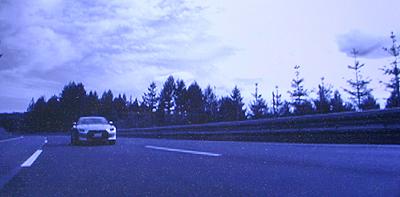 日産GTR ドイツのアウトバーン走行テスト