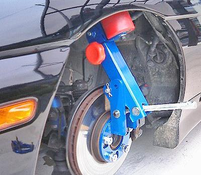 フェンダーのツメ折り機