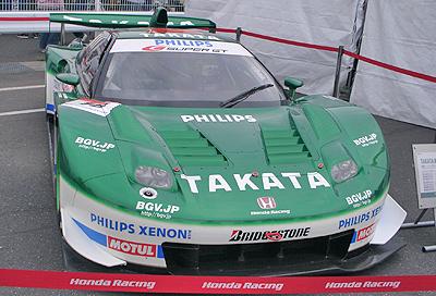 TAKATA童夢NSX 2007年モデル