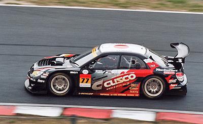 GT300クラス クスコ DUNLOP スバル インプレッサ
