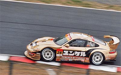 GT300クラス ユンケルパワー タイサン ポルシェ