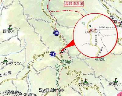 十国峠MAP