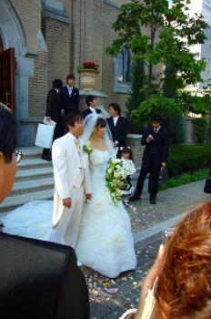 幸の結婚式 022