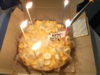 丸山先生ケーキ