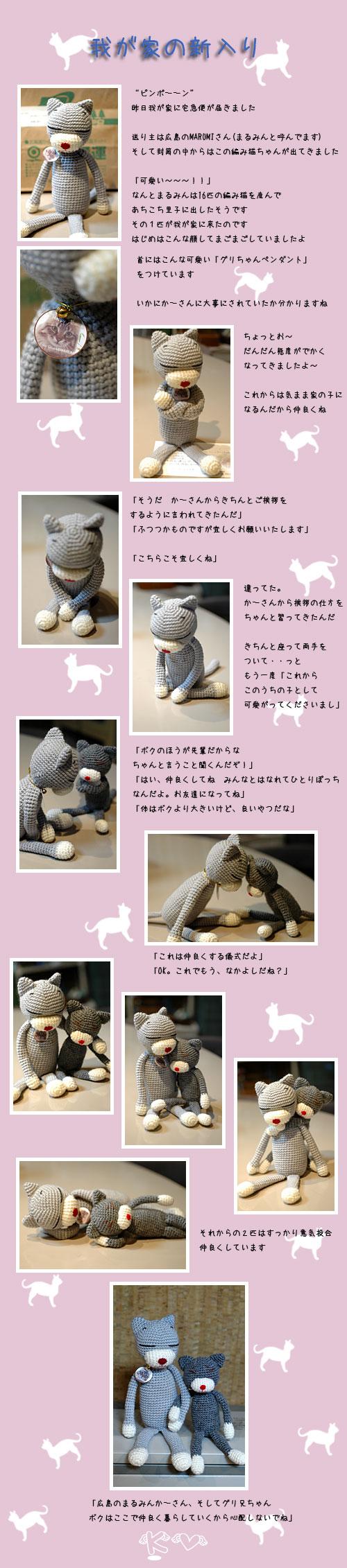 3月14日編み猫