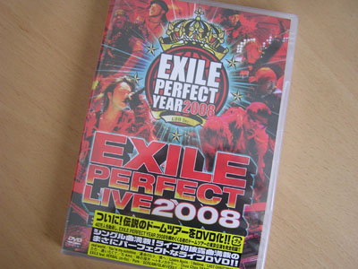 PERFECT LIVE 2008・2