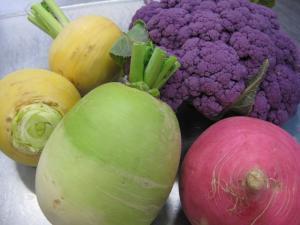 色とりどり野菜