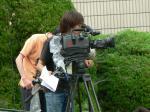 関西テレビ(ドリーム競馬)の撮影スタッフ