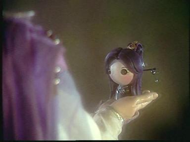 花靜夜軟陶娃娃