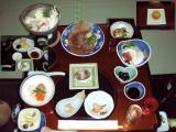 椿温泉夕食