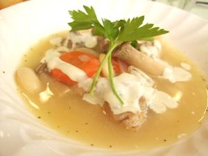 チキンと野菜の煮込み