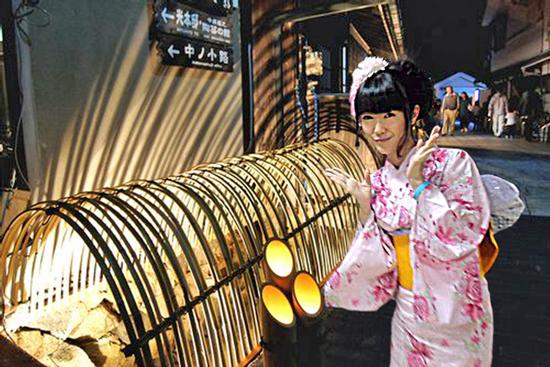 くぎみーと竹祭り(合成)