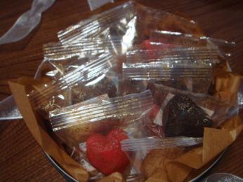 ハートの焼き菓子