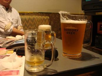おっきいビール