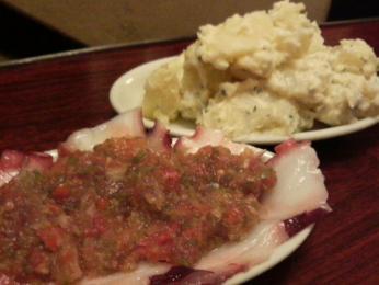たこビネガー風味とポテト