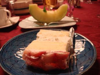 鯛ケーキと水菓子