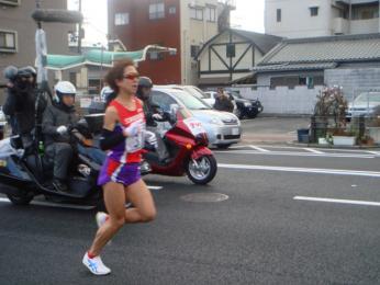 渋井陽子選手!