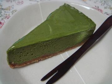 抹茶チーズケーキ!