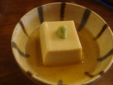 胡麻豆腐!