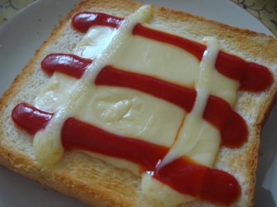 チーズトースト!