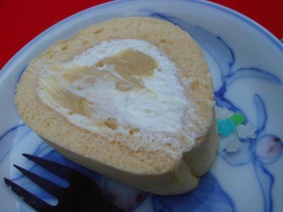 米粉ロールと金平糖!
