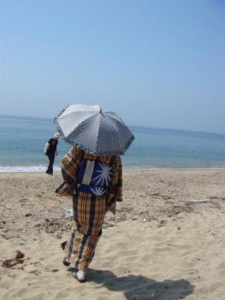 海だよ~!