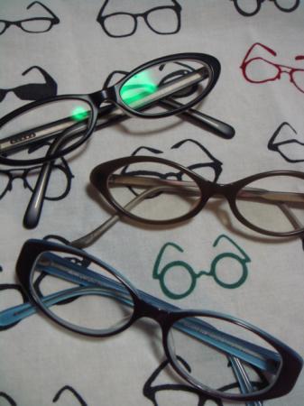 メガネたち!