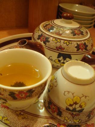 ジャスミン茶!