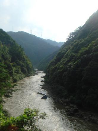 保津川の景色