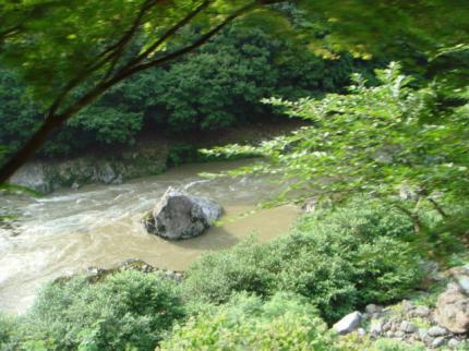 保津川の景色2