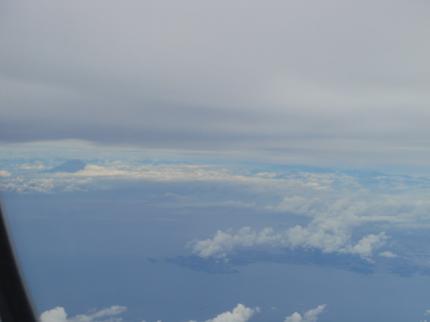 静岡上空より
