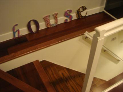 階段踊り場!
