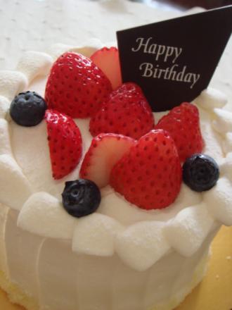 誕生日ケーキだよん!