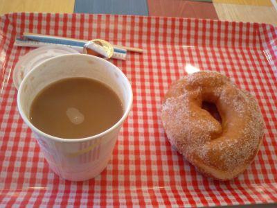 コーヒー&ドーナッツ